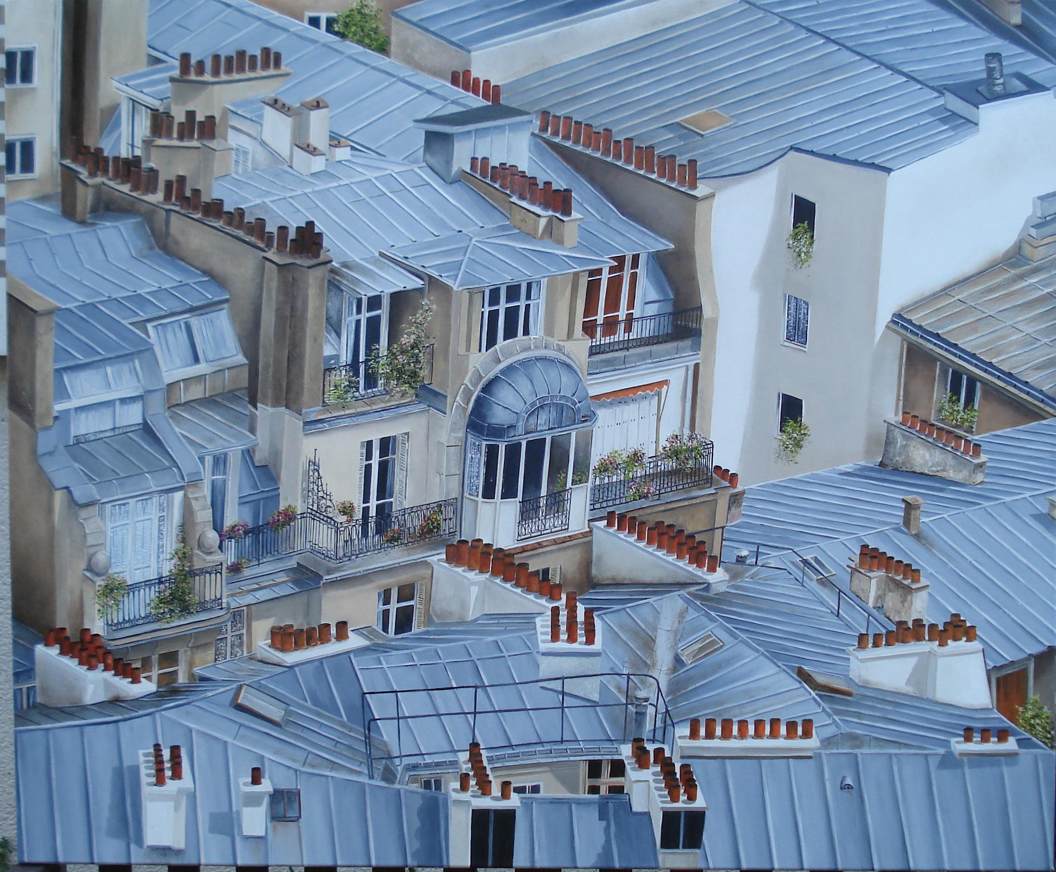 Galerie toits de paris artwindow for Appartement sur les toits paris