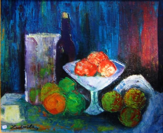 artwindow - fruits sur table