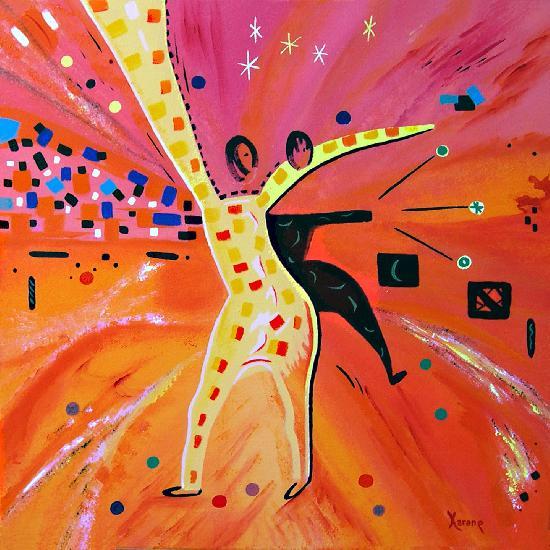 "Prix : 400� <br /><br /><a target=""_blank"" href=""http://www.artwindow.fr/aw/img/karane/Le%20Guide-Acrylique-60cmx60cm-karane%28mail%29770752035.jpg""><u>Zoom</u></a>"