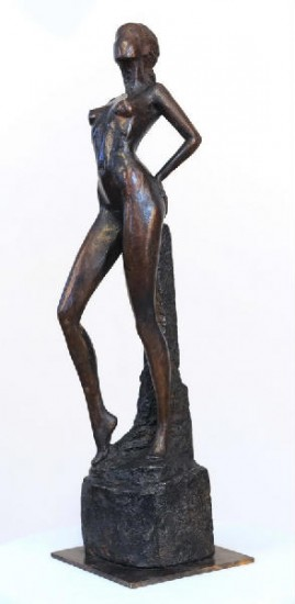artwindow - bronze :  45x8x9