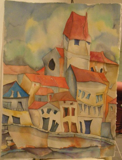 artwindow - Aquarelle grand format 57x77