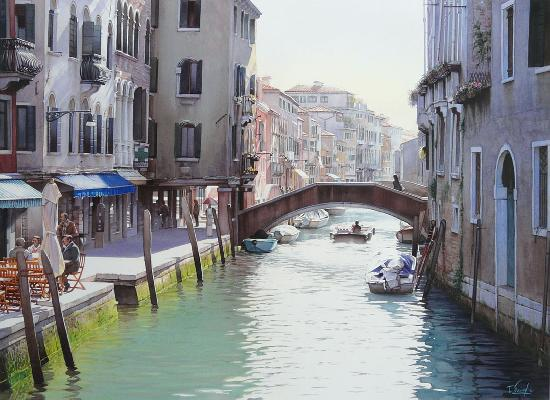 artwindow - Aquarelle originale - Venise. Cette aquarelle m'a