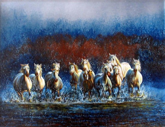 artwindow - Chevaux sauvages